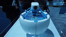 The Fleye drone could be the safest flying robot at CES