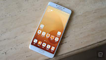 三星 Galaxy C9 Pro 在台登場