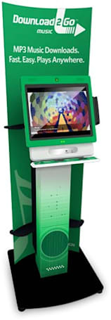 MOD Systems' Download2Go kiosks now hawking DRM-free music