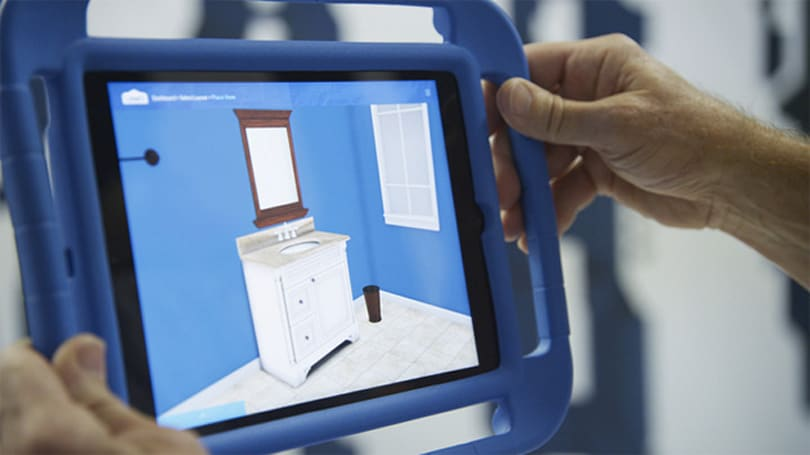 Lowe's Holoroom is an augmented reality showroom, not a sci-fi revolution