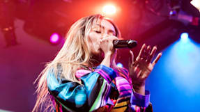 Kat Graham Performs at BUILD's New Studio