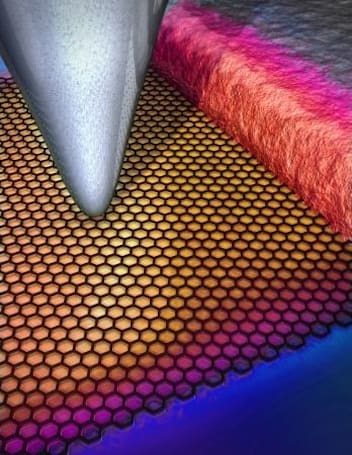 Researchers find graphene transistors cool themselves, silicon counterparts seethe with envy