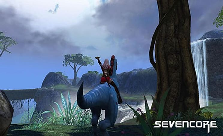Sevencore sci-fantasy MMO reveals English website