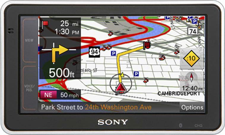 Sony updates nav-u GPS line with NV-U73T and NV-U83T