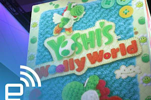 E3: Tour of Nintendo's Yoshi's Woolly World Booth