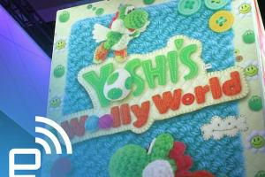 E3: Tour of Nintendo's Yoshi's Woolly World Booth