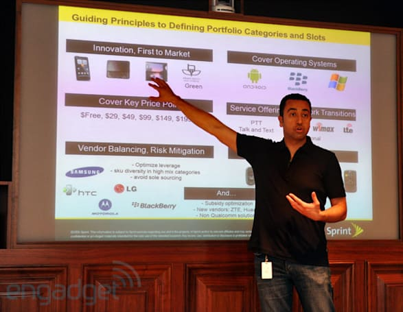 Sprint's Fared Adib: we made a conscious decision to scale back bloatware on smartphones
