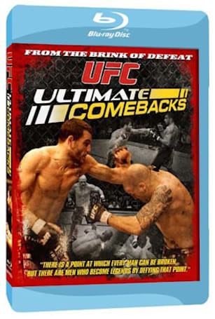 UFC making Blu-ray Disc debut with ULTIMATE COMEBACKS