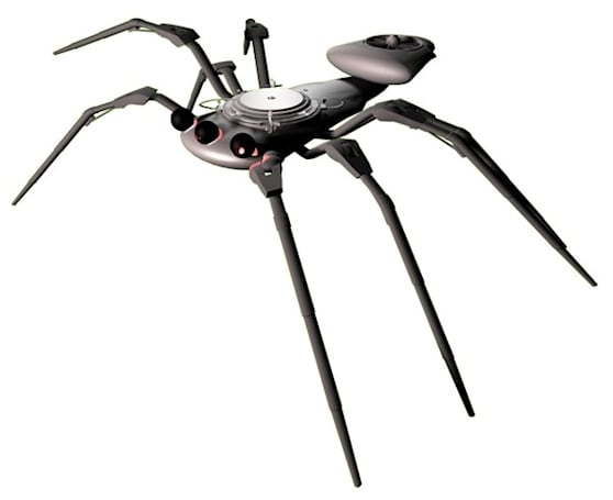 BAE Systems working on spider-bots, other ways to scare you to death
