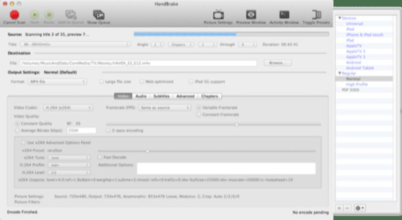 Friday Favorite: Handbrake bridges the gap between DVDs and my iPad