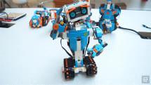 Lego Boost 是给小小朋友的 Mindstorm