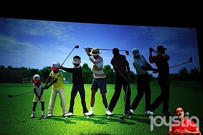 Go from toddler to titan in Tiger Woods 13