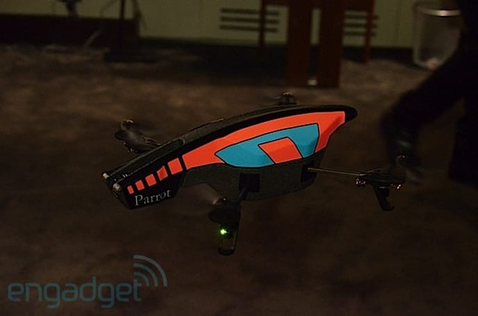 Parrot unveils AR.Drone 2.0 with 720p HD camera, autonomous video-recording, we go hands-on
