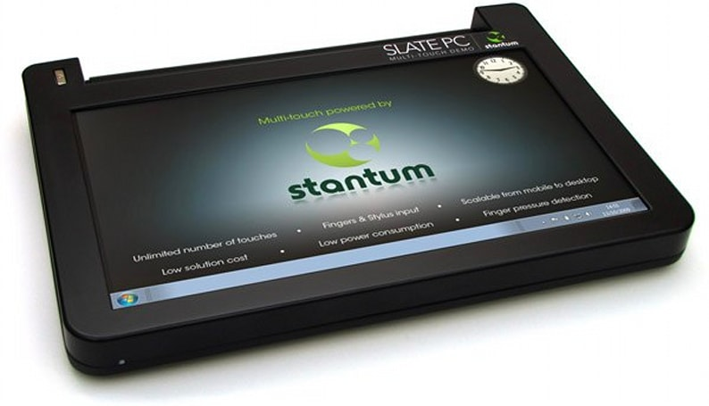 Stantum's unlimited multitouch meets Mini 10 in a fight to the death (update: now with WiFi, Bluetooth)