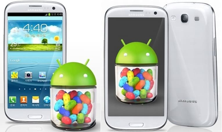Samsung begins delivering Jelly Bean to UK-based Galaxy S III owners