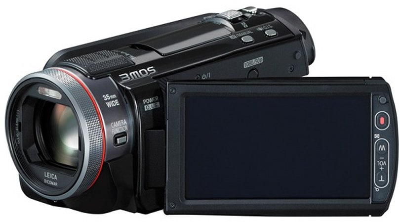 Panasonic's CES 2011 camcorder launch: 3D, HD, 3MOS and 1MOS all present