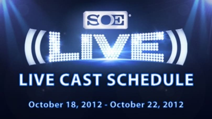 SOE Live posts live cast schedule