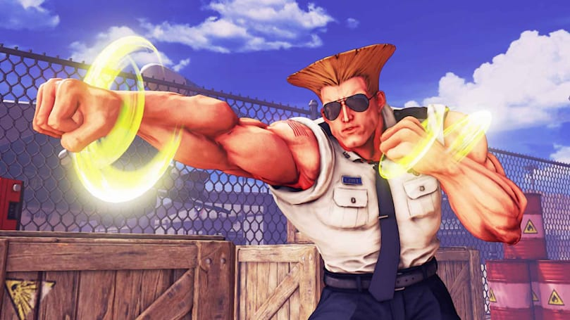 Guile is coming to 'Street Fighter V' this month