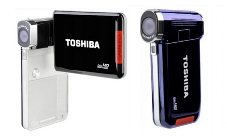 Toshiba Camileo S30 and P20 pocket camcorders get touchscreens