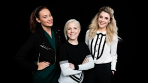 """Grace Helbig, Mamrie Hart And Hannah Hart On Their New Comedy """"Dirty 30"""""""