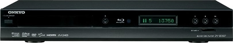 Onkyo shows pride in its DV-BD507 Blu-ray player with lofty $449 price tag