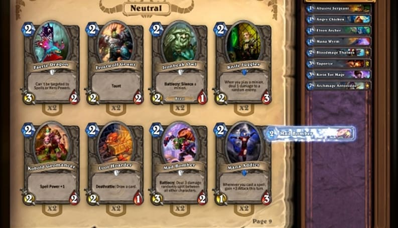 Blizzard feels 'validated' by Hearthstone's F2P model
