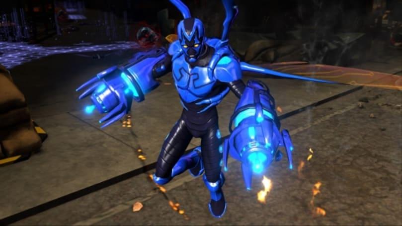 Infinite Crisis recruits Blue Beetle