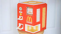 Why not make a McNugget vending machine out of Legos?