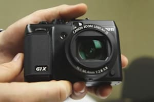 Canon PowerShot G1 X First Hands-on @ CES 2012