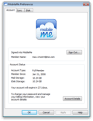 MobileMe control panel for Windows helps with proxy servers