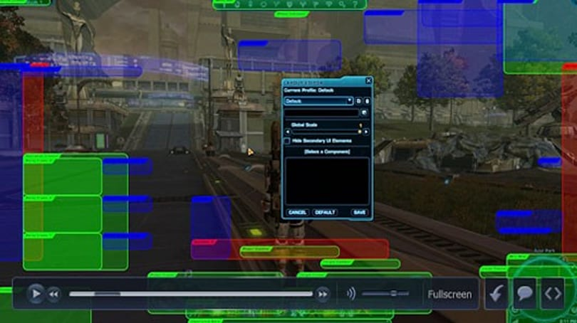 BioWare shows off SWTOR's customizable UI in new video