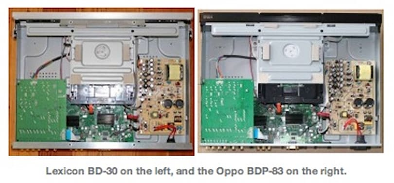 Lexicon busted passing Oppo off as a $3500 Blu-ray player