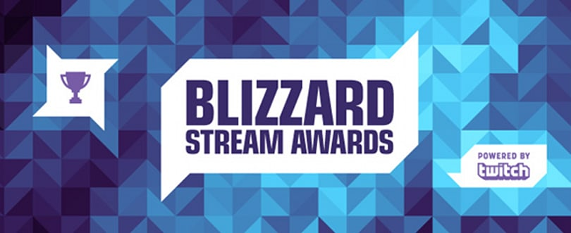 Cast your vote in the Blizzard Stream Awards