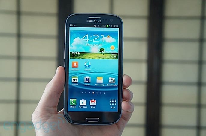 Samsung Galaxy S III for T-Mobile review