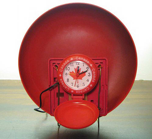 Fire alarm bell repurposed for waking the dead