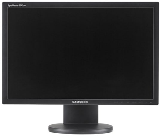 Samsung ships DisplayLink-equipped SyncMaster 2243QW