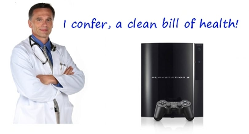 Store managers detail PS3 failure rate at less than 1%