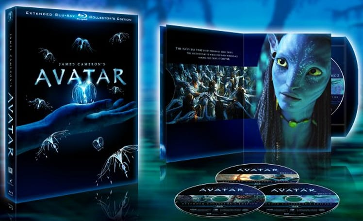 Avatar Extended Collectors Edition Blu-ray includes 3D Easter Egg