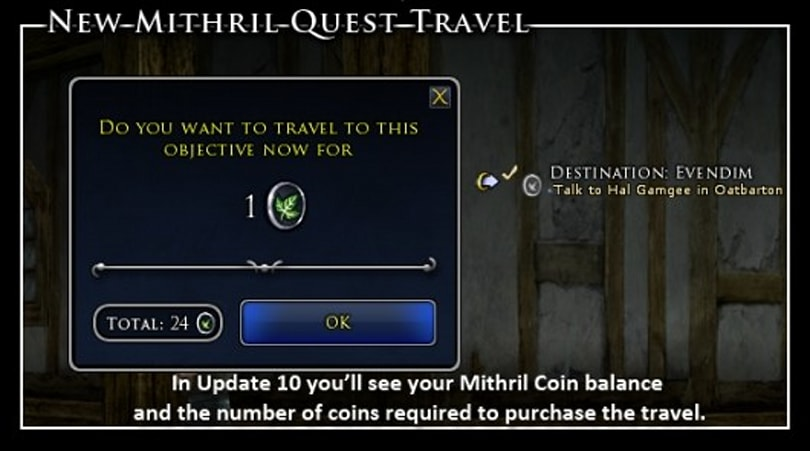 LotRO introduces flexible store-bought currency