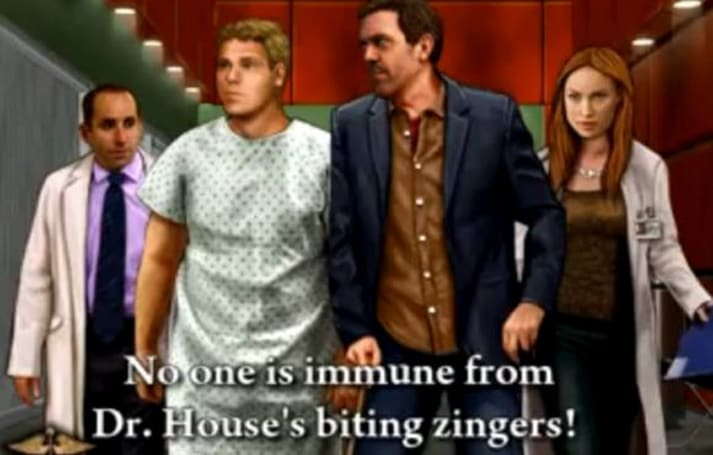 'No one is immune from Dr. House's biting zingers!'