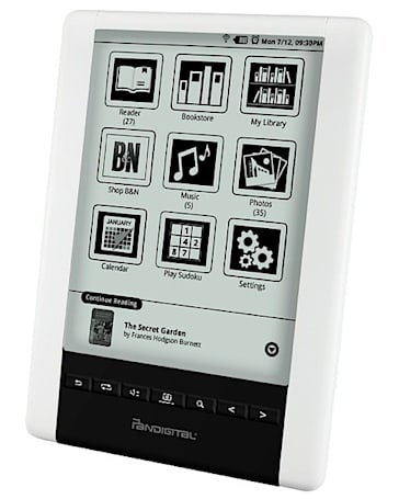 Pandigital takes a second shot at digital reading with the Novel Personal eReader