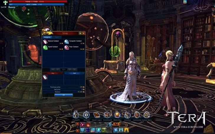 TERA beta videos show crafting, enchanting, Elin creation