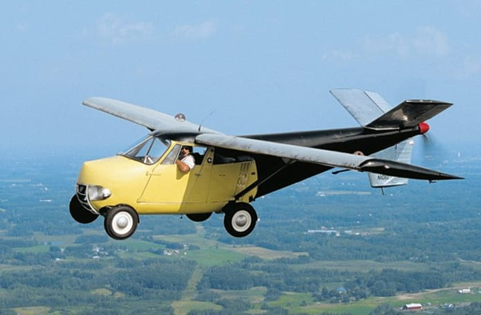 For sale by owner: 1954 flying Taylor AEROCAR, yours now for only $1.25 million (video)