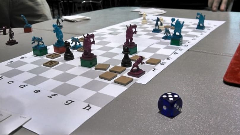 Tim Keenan's paper prototypes invade the PAX East tabletop summit