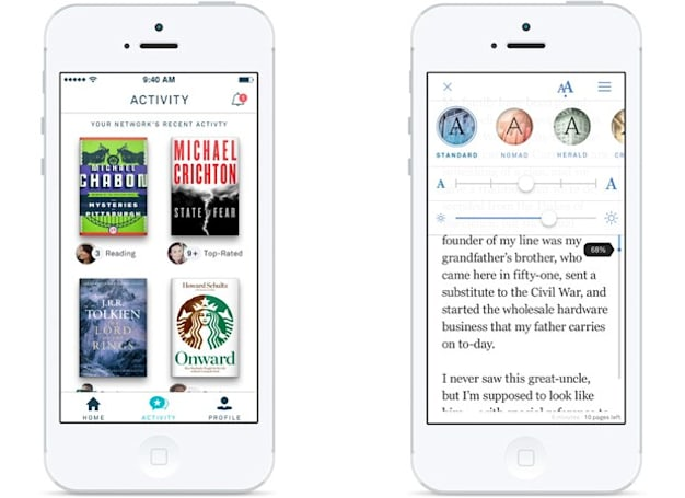 Oyster for iPhone offers all-you-can-read e-books for $10 per month