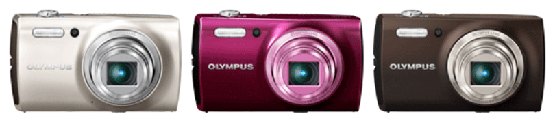 Olympus expands its point-and-shoot offerings with Stylus VH-410 and VH-515
