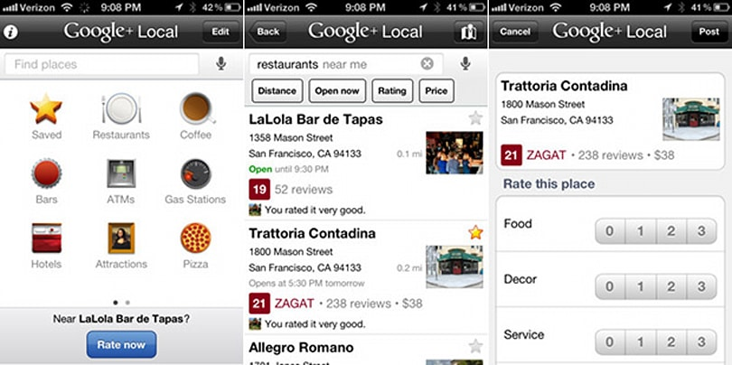 Google+ Local for iOS has one foot in the grave, will rest in peace August 7th