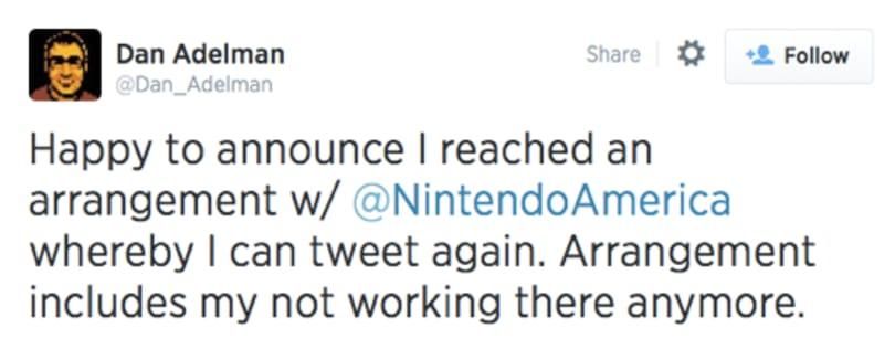 Nintendo's indie spokesman leaves company