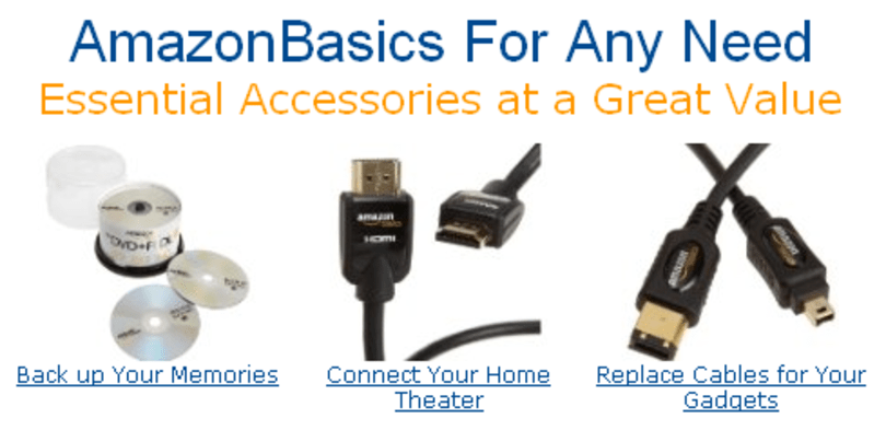 AmazonBasics: Bezos and Co. starts private-label consumer electronics line
