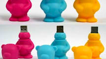 SolidAlliance's FATBEAR USB drive: gets fat, scares kids